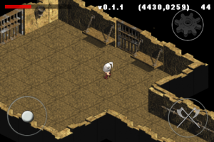 Screenshot of isometric tileset from XSI working in-game.